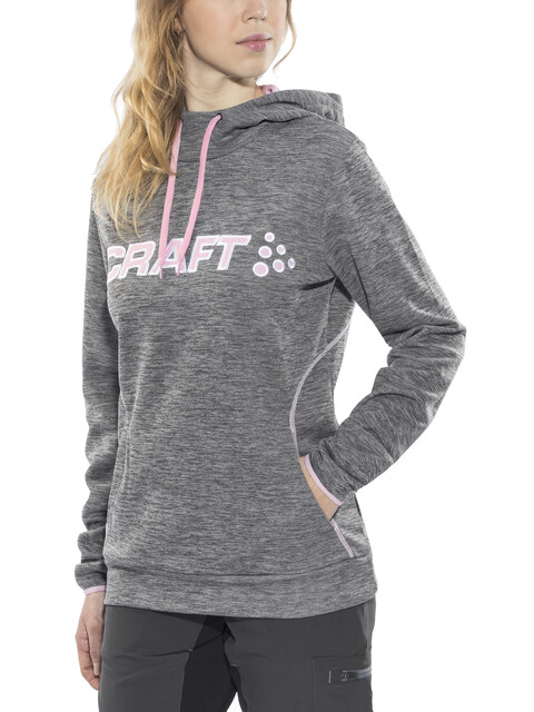 Craft Logo Capuchon Dames wit